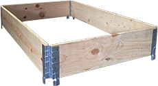 Wooden pallet collars manufacturers